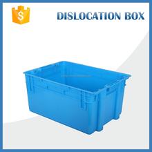 big stack ability plastic crates for the storage and transport use of fresh fruits and vegetables