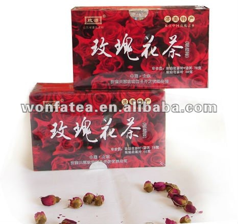 Rose tea (single chamber or double chamber)