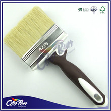 ColorRun Tapered PP Filament TPR Rubber Handle Hair Brush Paint Brush