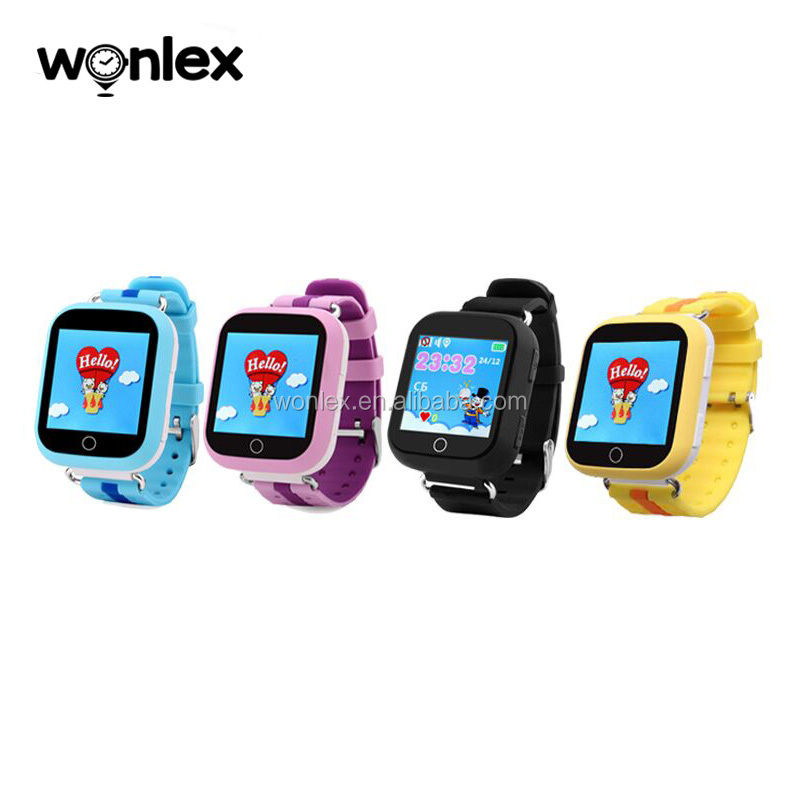 Wonlex Android camera watch Q100 4G gps tracker watch smart watch <strong>phones</strong> GW200S for kids children