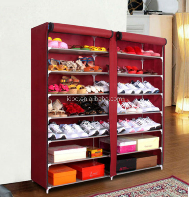 New design canvas compact shoe rack for sale (FH-F0207)