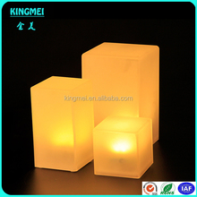 Remote Control Rechargeable Small Plastic Decorative LED Table Lamp