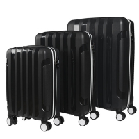 PP Luggage Carry On Luggage Hard