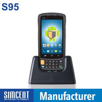 IP65 big screen GSM Android os infrared 1d/2d data capture machine for Healthcare