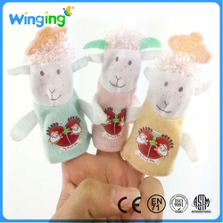 Alibaba ICTI certified Hand puppets baby product