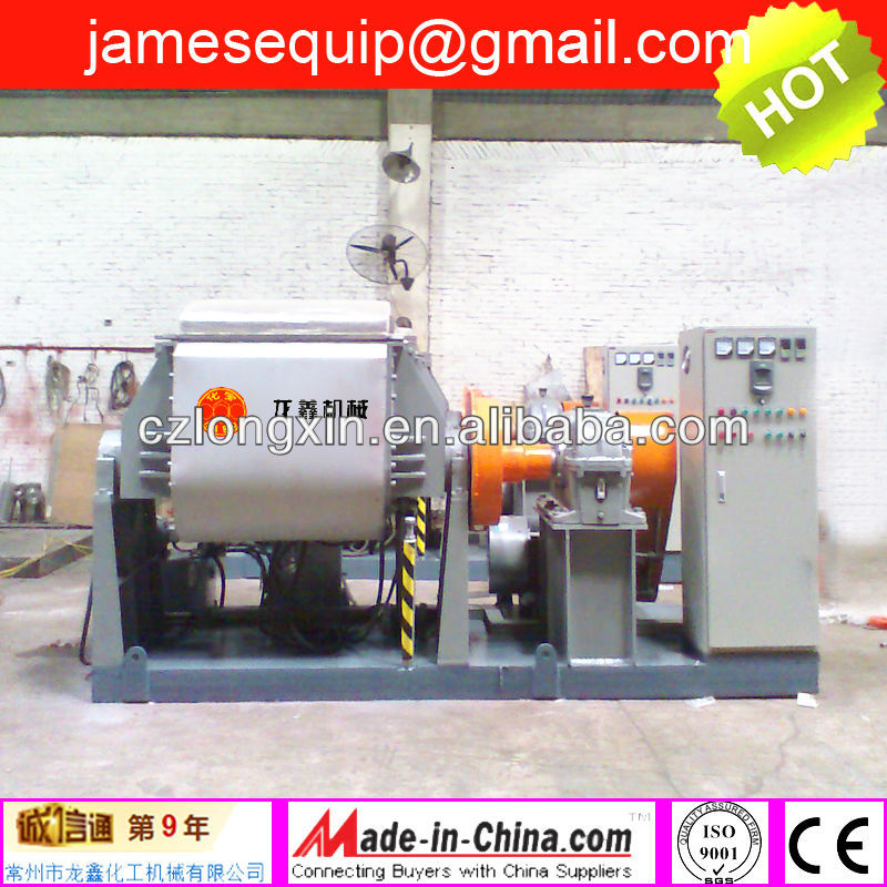 Rubber & plastic dispersion mixer/rubber kneader