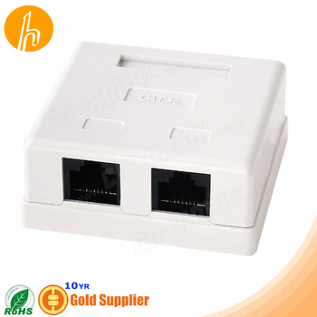 Cat5e RJ45 Wall Mounted Box