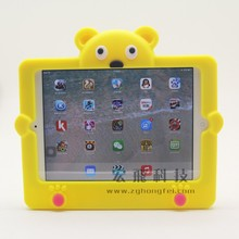 For Kids Cute 3D Stand Multiple Stand Bear shape Case for iPad Mini 1 2 3 Cover