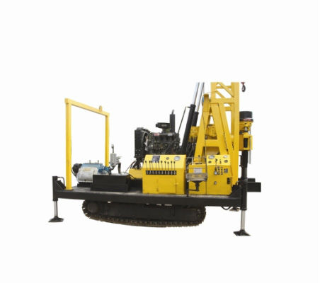 Hydraulic Crawler Chassis portable drilling rig XYD-3