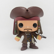 Popular style factory price custom made injection molding PVC funko pop action figure toy