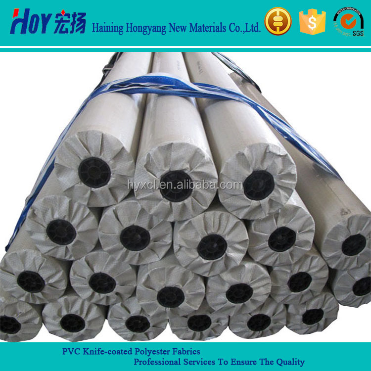 Competitive Price PVC Tarpaulin Stocklot / Coated Fabric Stocklot