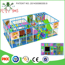 Children small size New Arrival Jungle forest cheap indoor playground equipment for nursery school