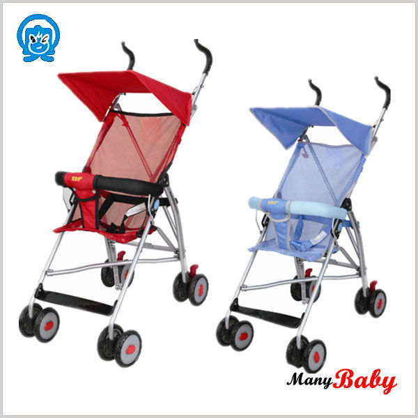 newest model children stroller popular flodable baby stroller with reversible handle