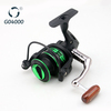 Top Green-Black Spinning Fishing Reel GO4000
