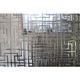 Stainless steel decorative hollowed room partition screen metal restaurant wall divider