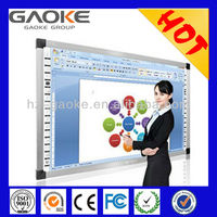 Quick response infrared GK-880H interactive whiteboard with speakers