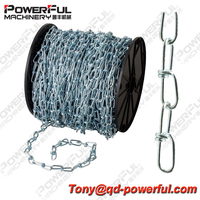 Hot Sale High Quality US Type NACM 2010 Double Loop Galvanized Chain