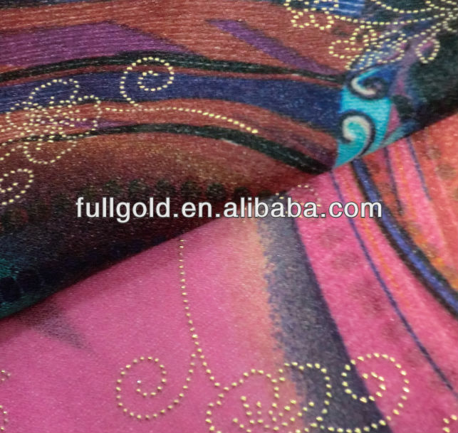 china manufacturer crepe fabric dress material for clothing