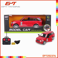 1/12 scale car model rc car with opening doors