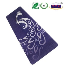 new style printing customized eco friendly anti slip natural rubber custom printed yoga sport mat