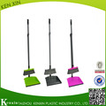 Plastic Long handle PP plastic sweeping broom with dustpan KX-868
