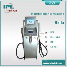 2014 new technology ipl elight rf nd yag laser medical device multifunctional beauty product for weight loss skin rejuvenation