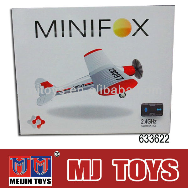 2.4G 4 channel Mini plastic rc glider with factory price