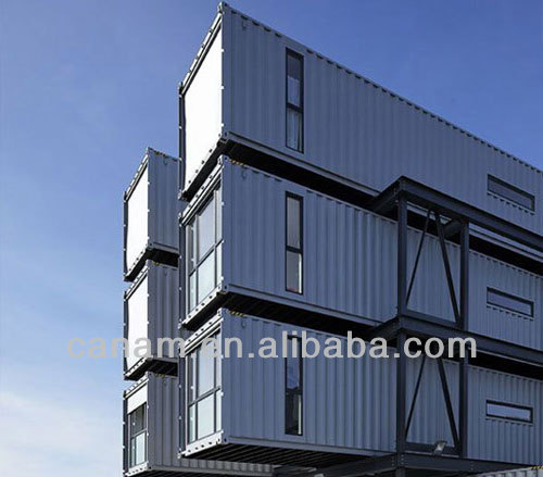 temporaey 20ft container house residence for refugees