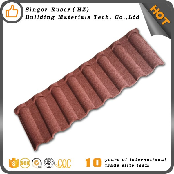 Factory Price Metal Roofing Building Material Terracotta Metal Roof Tile For Reseller