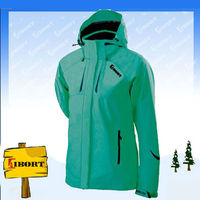 JHDM-3179-1 ladies lightweight rain jacket/outdoor Jacket with hoody