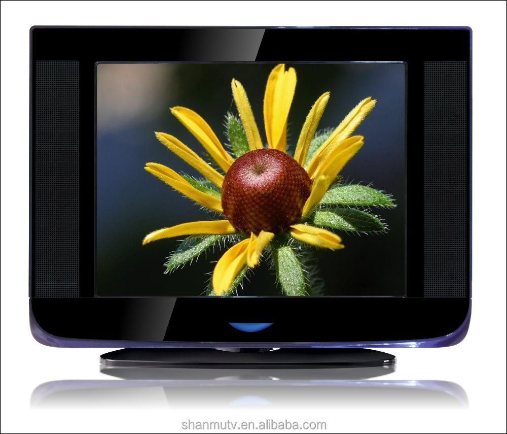 21inch Color Television/rotating base crt tv/slim/DC 12V/solar crt tv