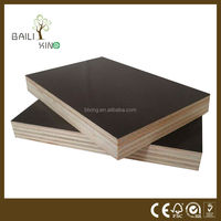 hardwood black film faced plywood film faced plywood BaiLiXing wood