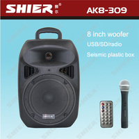 SHIER AK8-309 extreme power amplifier with MP3/USB/SD function ( bluetooth function optional)