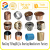 gold supplier plain bearing oilless bearing brass bushing