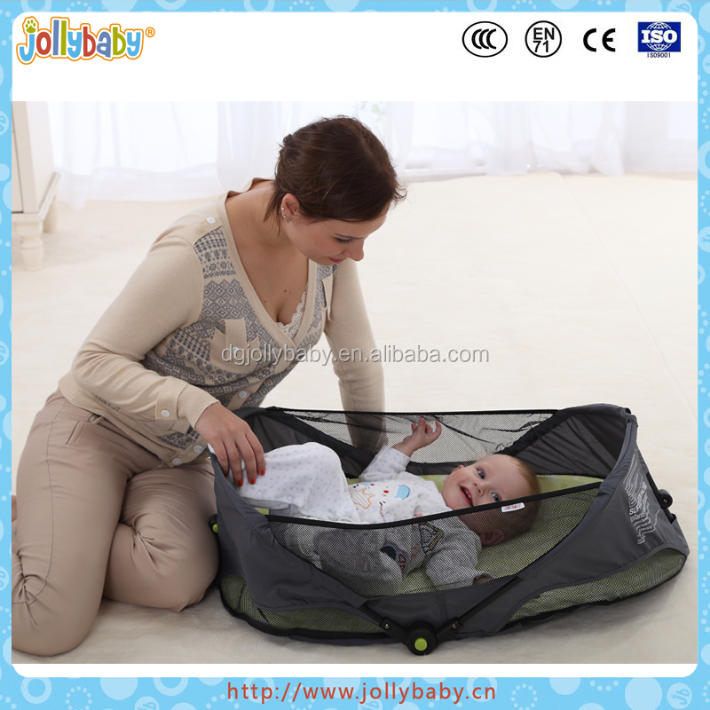 Lightweight Design and Safety Outdoors Baby Playpen Foldable Camping Travel Bed