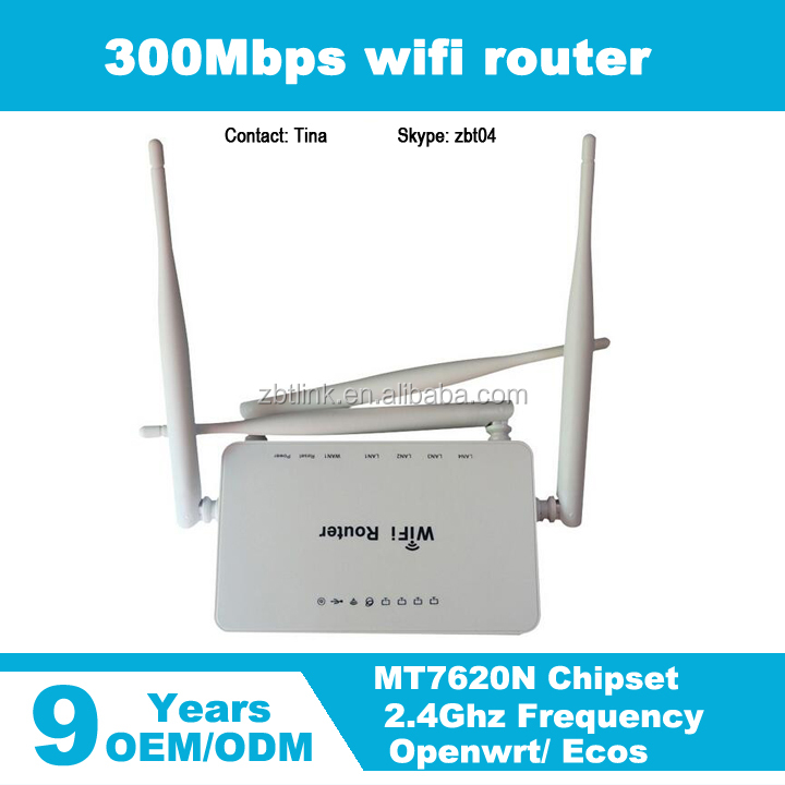 Cheap Price 11N 300Mbps Home wireless wi-fi openwrt router
