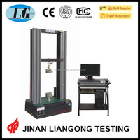 factory price electronic universal bending testing machine usage flexural strength test/bend test/tensile test