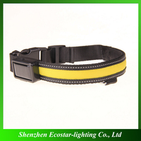 New coming luminous personalized diy flashing led dog collar