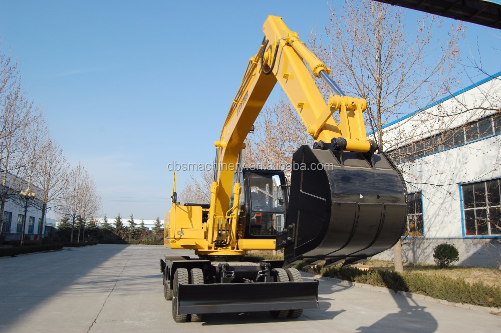 China high quality Hunter Wheel Excavator HTL150