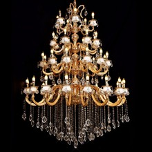 Luxury Crystal Chandelier Large Hotel Lobby Chandelier