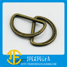 "Anti-Brass Slider ""D"" Shape Metal Alloy Buckle / Bag Buckle Accessories / Belt Fastener"