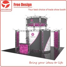 Yota offer Titan truss booth,Shanghai exhibition booth design and building