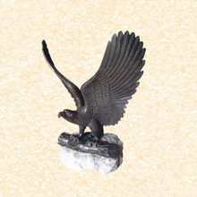Stone Carving eagle sculpture