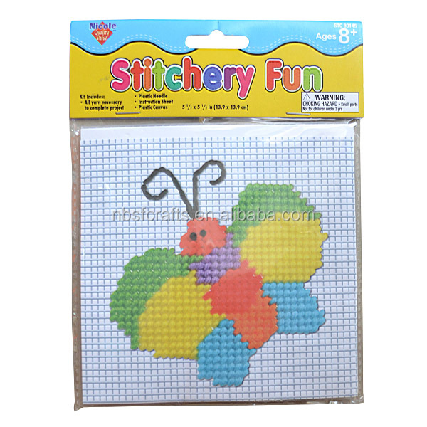 Cross Stitch fun for kids diy craft set