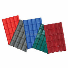 UPVC trapezoid roof tile/ Plastic trapezoid roof sheet for house