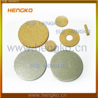 5 10 20 30 40 50 60 80 90 microns Nets Powder Sintering Brass Bronze SS Metal Disc Filter