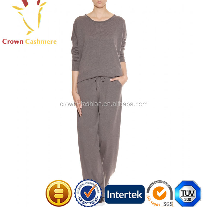 Women Pure Cashmere Pants/Trousers