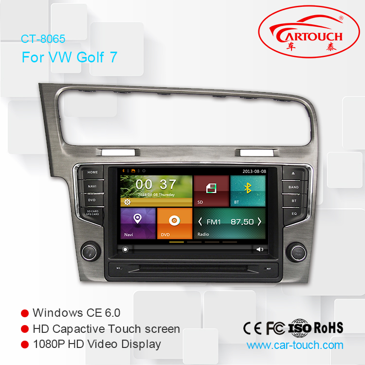 High Quality for VW GOLF7 2013 wholesale 2 din Auto Radio Car DVD from China factory