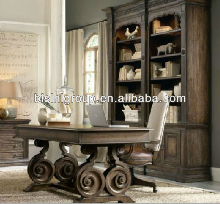 2013 New Design American Country Style Office Desk Set;wooden Office  Furniture,Antique Home Office Furniture Set(bg0600103)   Buy Antique Wood  Office Desk ...