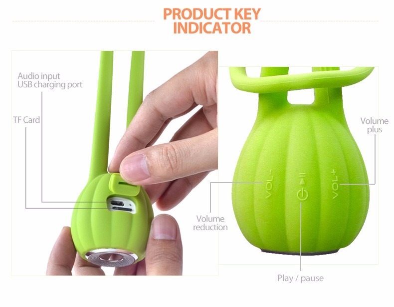 2016 consumer electronic Super loud Shower Mini Speaker